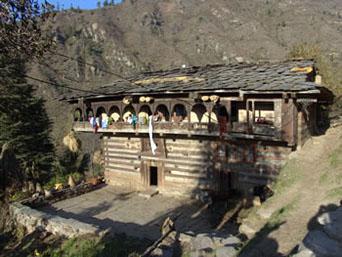 Temple of Jamlu Devta