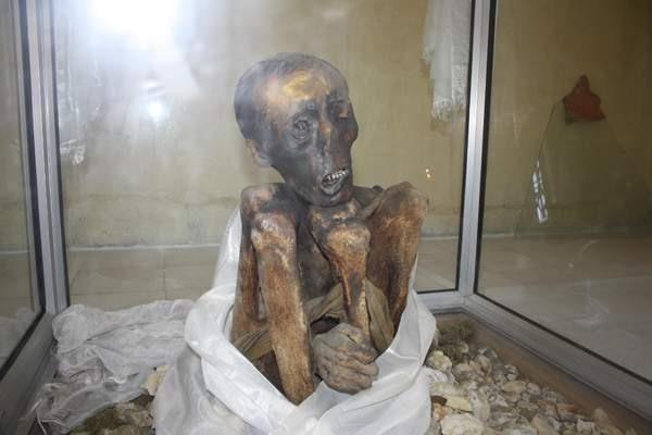 Mummy of Sangha Tenzin