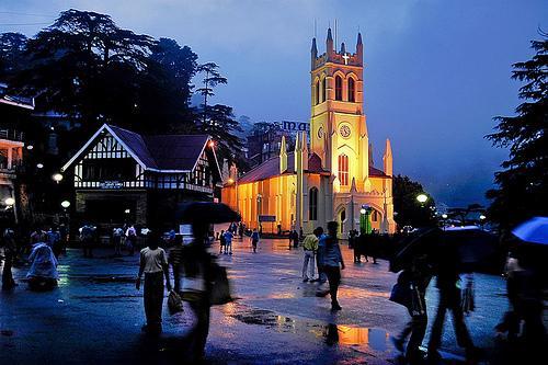 Chirst Church Shimla