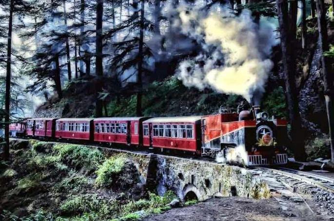 Kalka shimla train