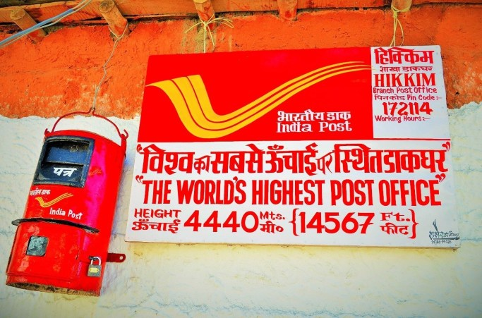 dakbabu.blogspot.inWorlds-Highest-Post-Office-Hikkim-in-India-Hikkim-Branch-Post-Letter