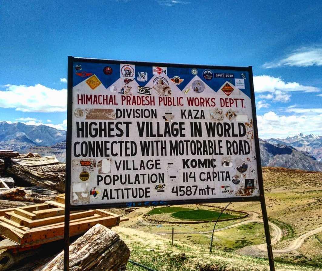 komic village – Mysterious Himachal